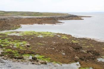 An claddach, or the stony coast in Irish Gaelic.