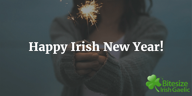 Happy Irish New Year