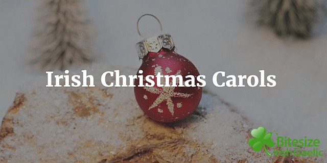 Irish Christmas carols and songs