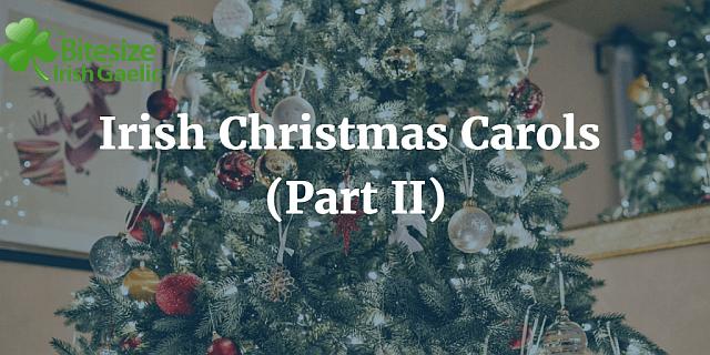 Irish Christmas carols