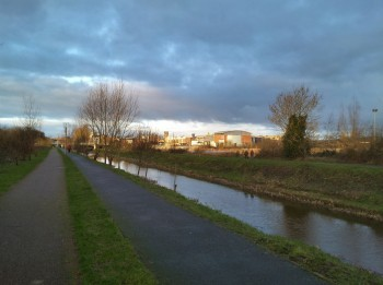 Limerick canal Ireland