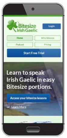 Learn Irish Gaelic on your phone