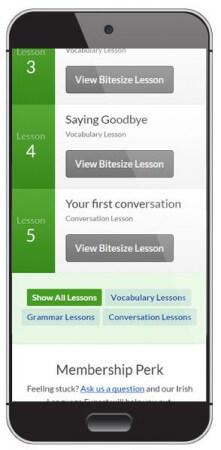 Learn Irish Gaelic on the go
