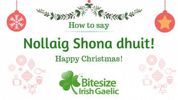 How to say Happy Christmas in Irish Video