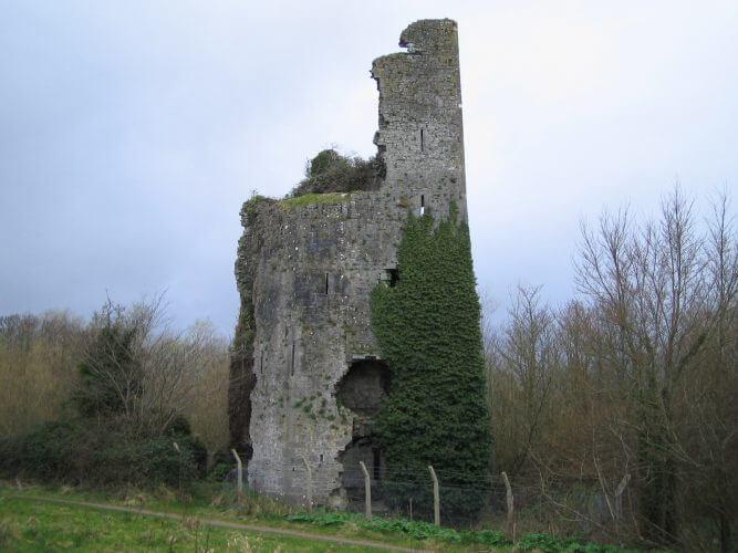 Irish castle, Count Limerick, Ireland