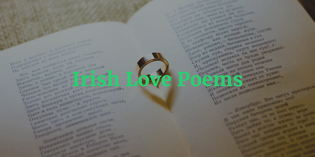 What's Your Favourite Irish Love Poem?