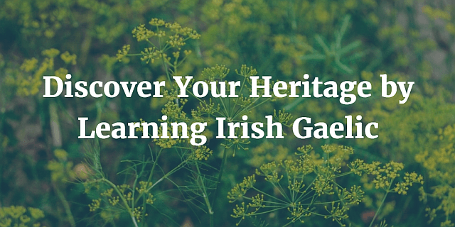 Discover Your Heritage by Learning Irish Gaelic