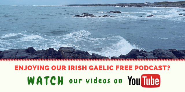 Bitesize Irish Gaelic YouTube channel 2