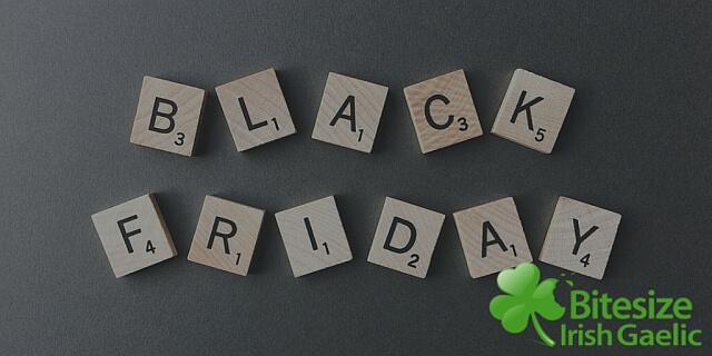 Bitesize Irish Gaelic Black Friday 2017 Sale