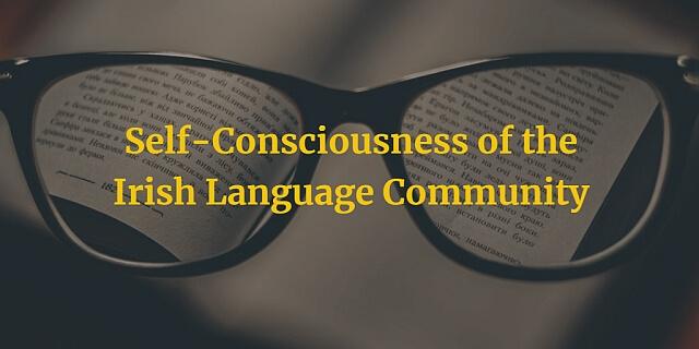 Self-Consciousness of the Irish Language Community article