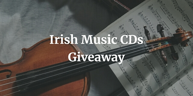 Irish Music CDs Giveaway